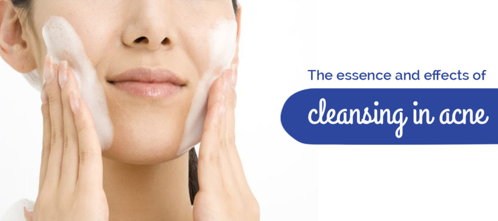 The essence and effects of cleansing in acne