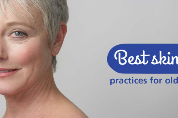 Best skin care practices for older people