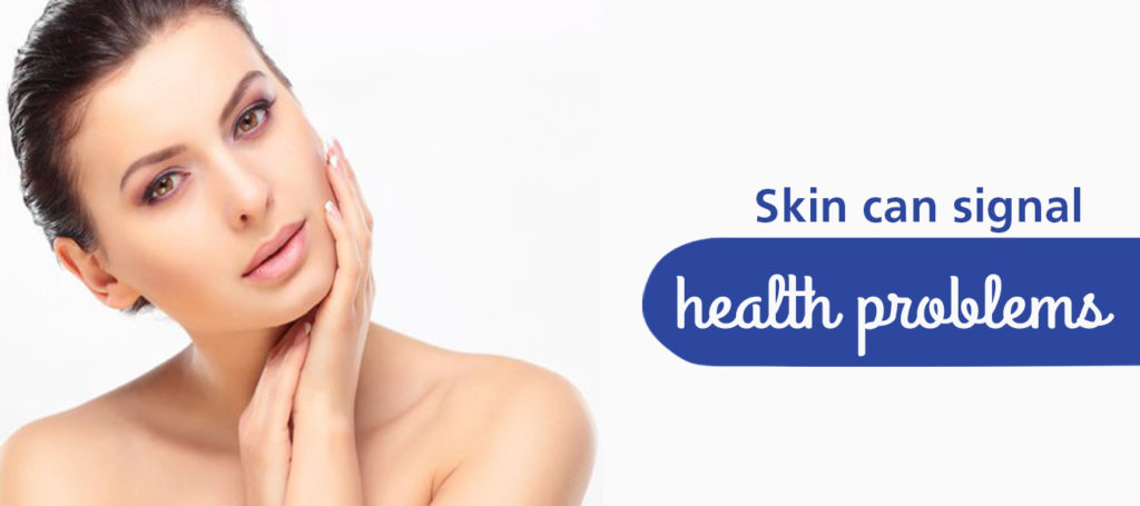 Skin can signal Health Problems