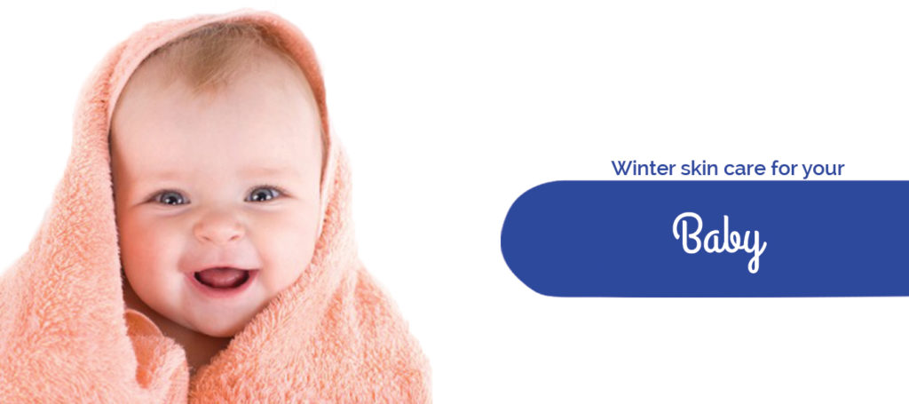 Winter skin care for your baby