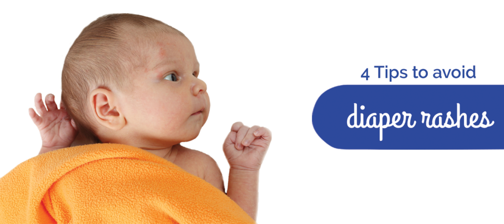4 Tips to avoid diaper rashes