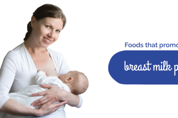 Foods that promote nutritious breast milk production