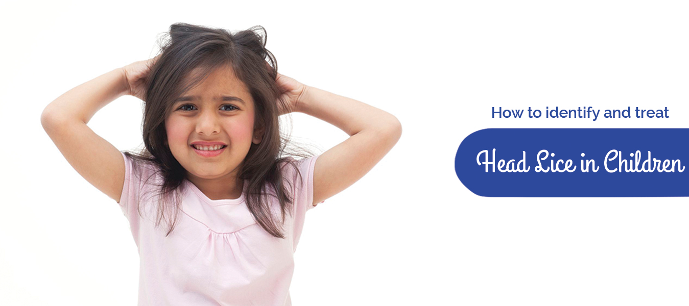 How to identify and treat head lice in children